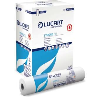 orvosi papírlepedő strong lucart antibakteriális 2 rétegű 50m 50cm