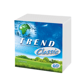 szalvéta trend classic 30x30cm 1 réteg? fehér 60db