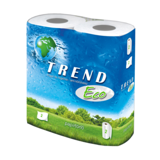 háztartási papírtörl? trend eco 2 tekercses 2 réteg 45 lapos