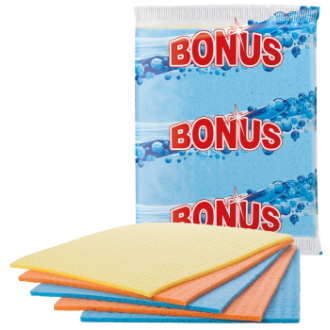 mosogatókendő szivacsos bonus 5 db