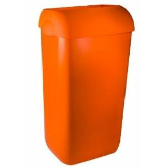 szemetes hulladékgyűjtő tetővel exclusive narancs 35 liter